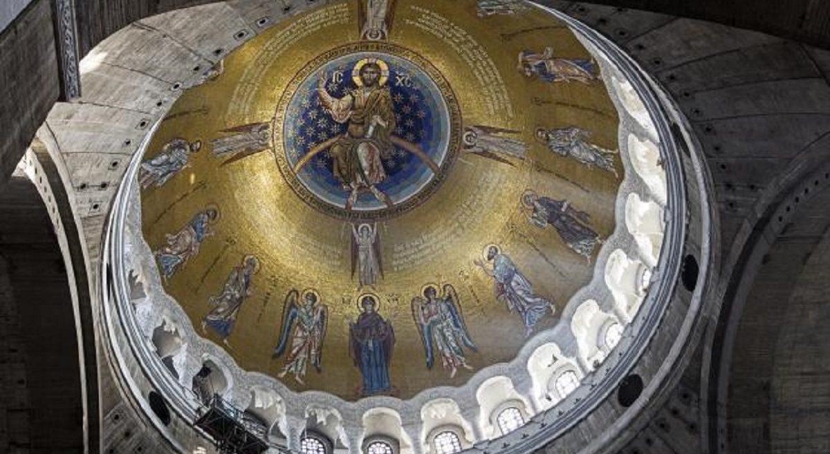 Величанствен мозаик у Храму Светог Саве - TAMO DALEKO